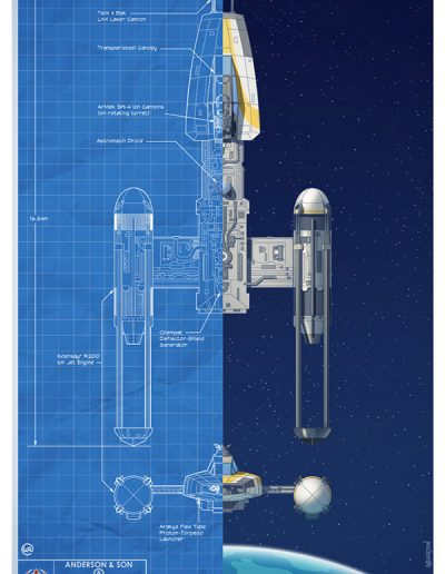 Star Wars Blueprint: Rebellion Y-Wing