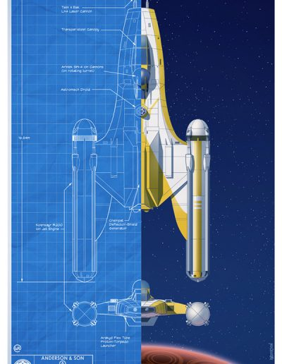 Star Wars Blueprint: Republic Y-Wing