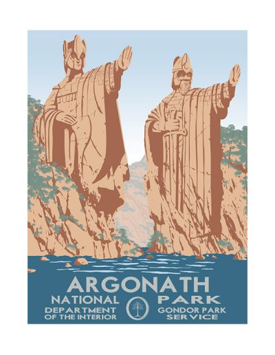 Travel Middle Earth: Argonath National Park