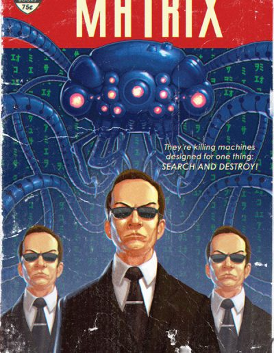 The Matrix Pulp Cover