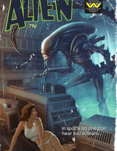 Alien Pulp Cover