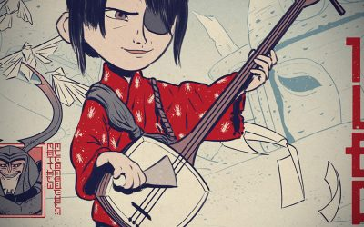 BTS: Kubo and the Two Strings Screen Print