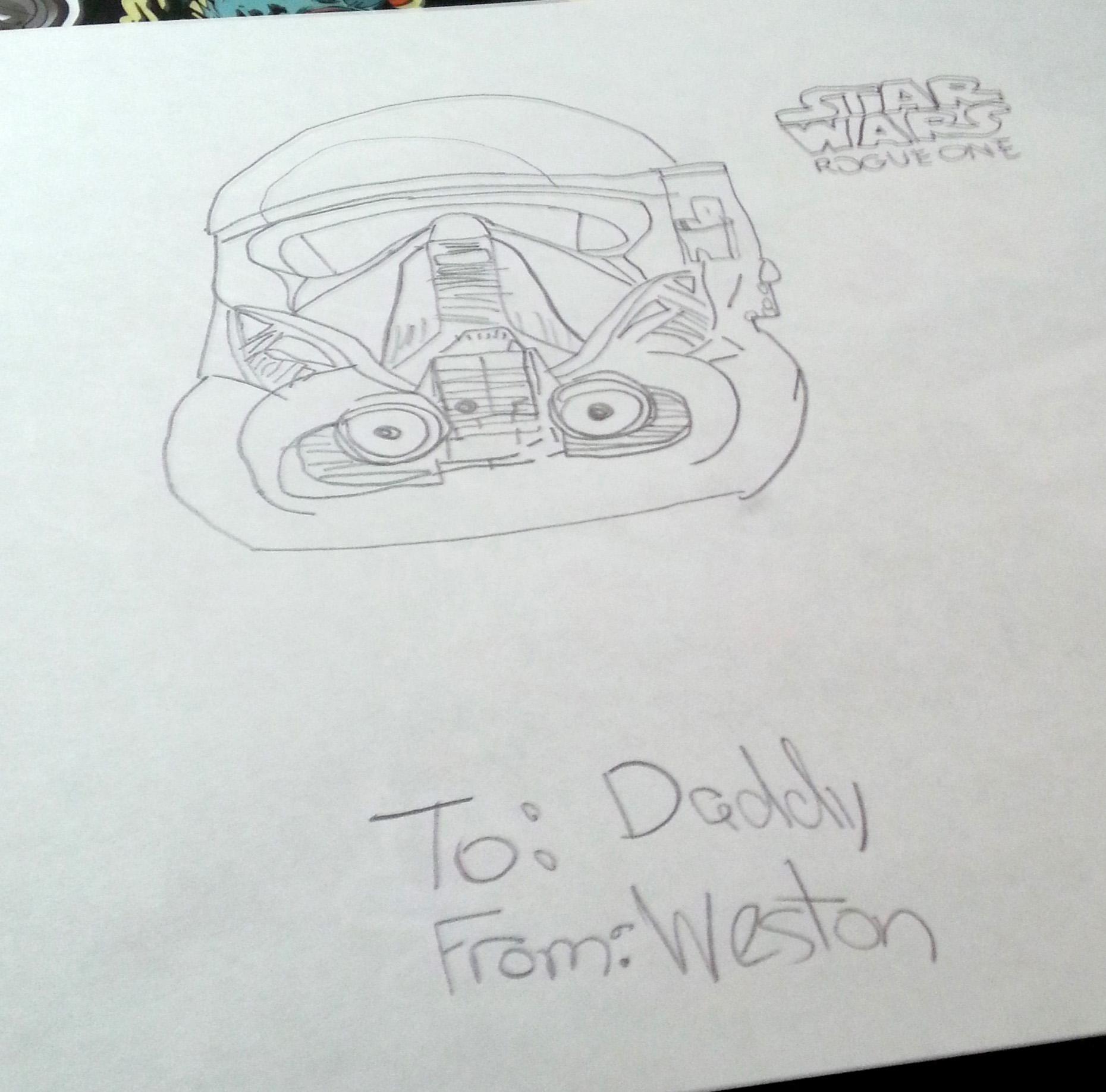 Weston's sketch